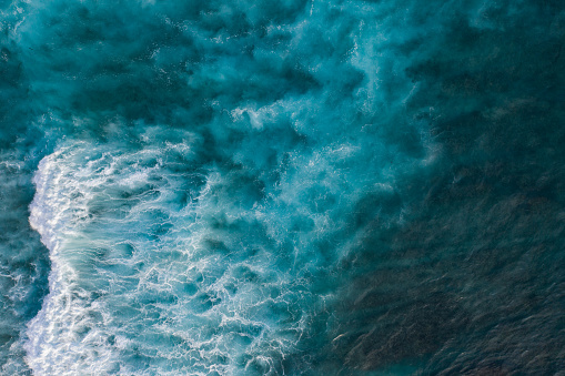 Ocean surf from above 1133759745