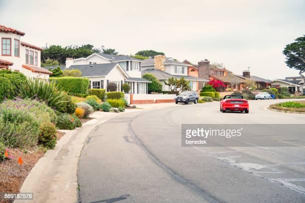 Ocean View Boulevard in the Pacific Grove Neighborhood of Monterey California