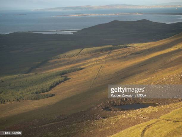 ocean view from the conor pass - conor stock pictures, royalty-free photos & images