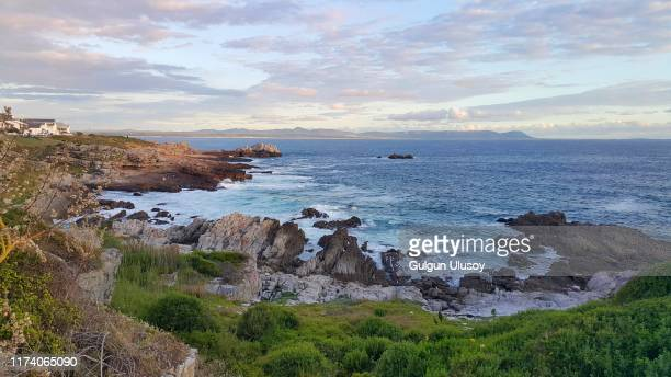 ocean view, hermanus, south africa - western cape province stock pictures, royalty-free photos & images