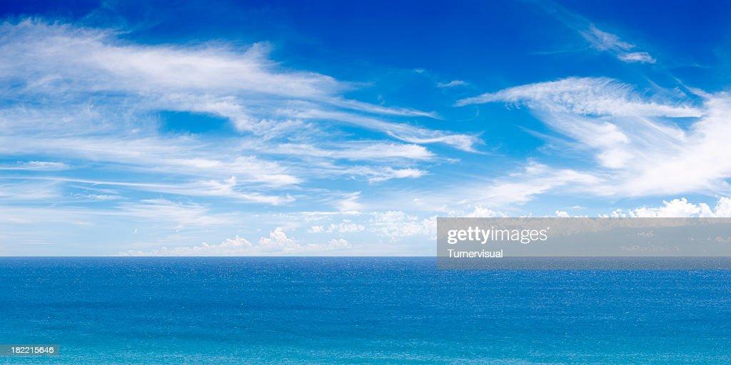Ocean View Panorama XXXL : Stock Photo