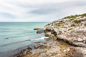 ocean view with rocks foreground arniston