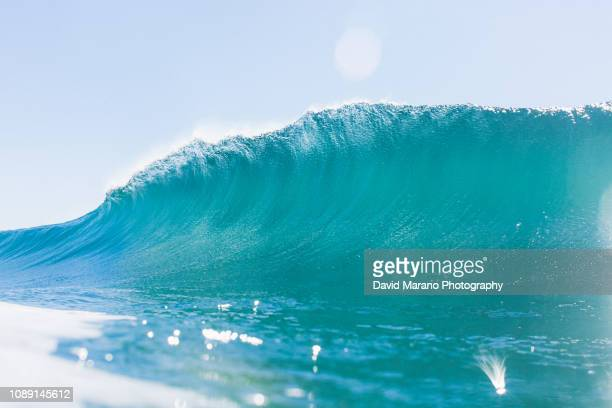 ocean wave abstract - newport beach stock pictures, royalty-free photos & images