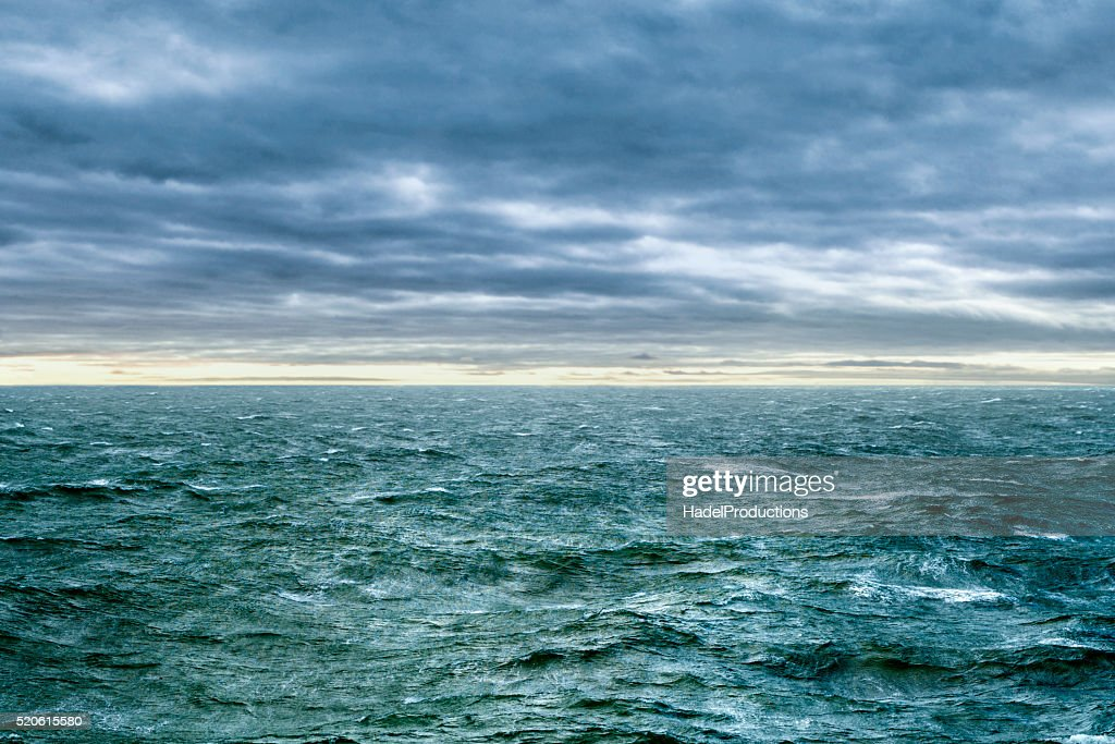 ocean waves during storm