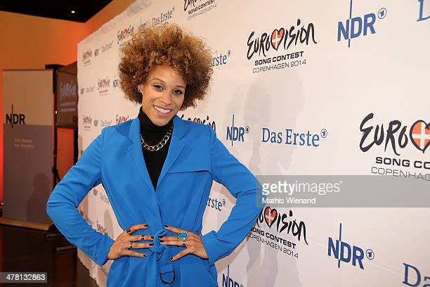 Oceana attends the Eurovision Song Contest Press Conference on March 12 2014 in Cologne Germany