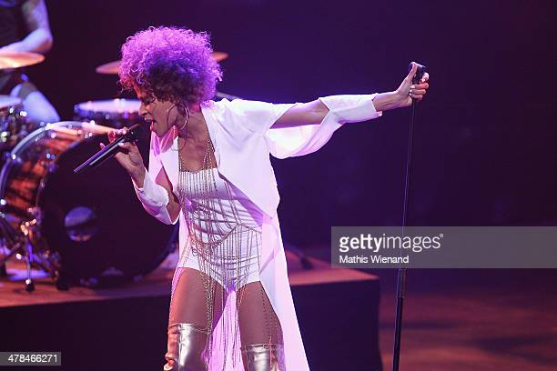 Oceana performs during the TV Show 'Eurovision Song Contest Unser Song fuer Daenemark 2014' at Lanxess Arena on March 13 2014 in Cologne Germany 'Our...