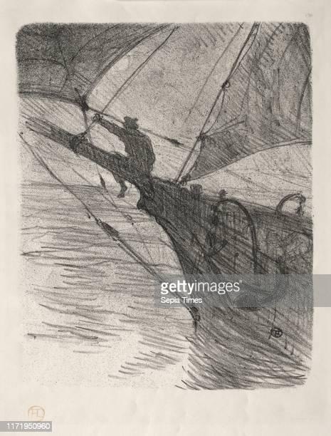 Oceano Nox 1895 Henri de ToulouseLautrec Lithograph