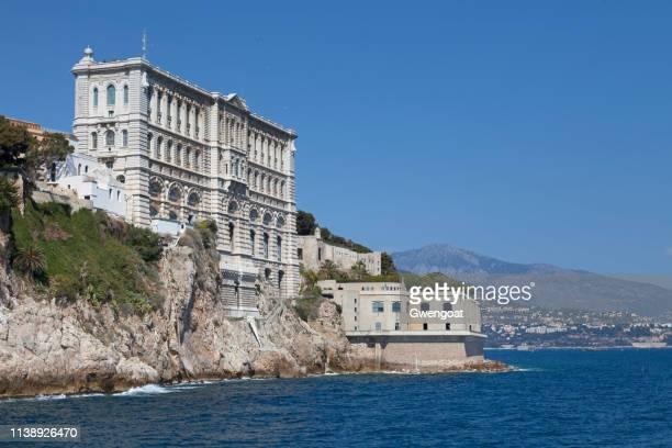 musée océanographique de monaco - monaco photos et images de collection