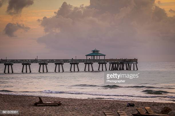 Oceans and pier in Florida