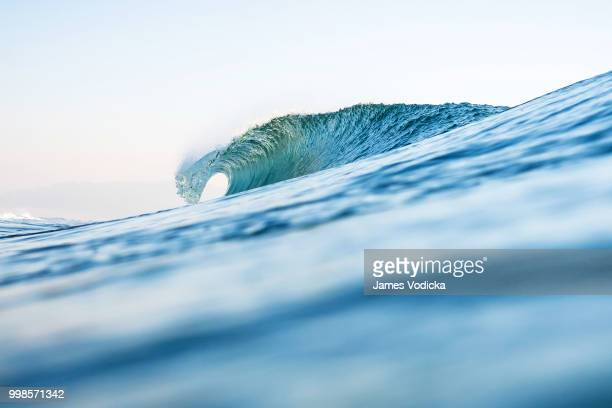 ocean's window - wave stock pictures, royalty-free photos & images