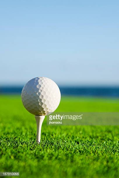 oceanside golf - golf background stock photos and pictures