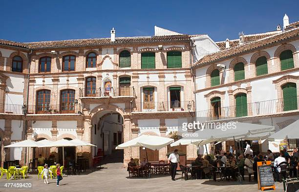 ochavada スクエアに archidona 、マラガ州、スペイン製です。 - málaga málaga province ストックフォトと画像