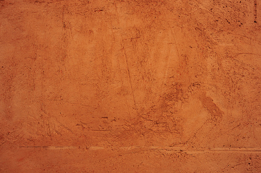 Ochre Colored Wall Texture - gettyimageskorea