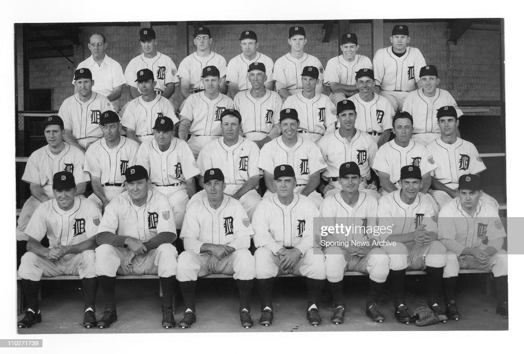 san francisco a1a62 3f319 Oct 01, 1945 - Detroit, MI, USA - 1945 Detroit Tigers team ...