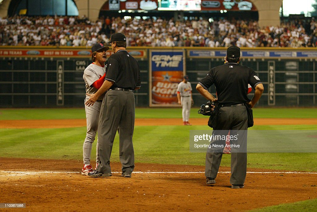 MLB NL Div Series: Cardinals at Astros - Game 4 : Nachrichtenfoto