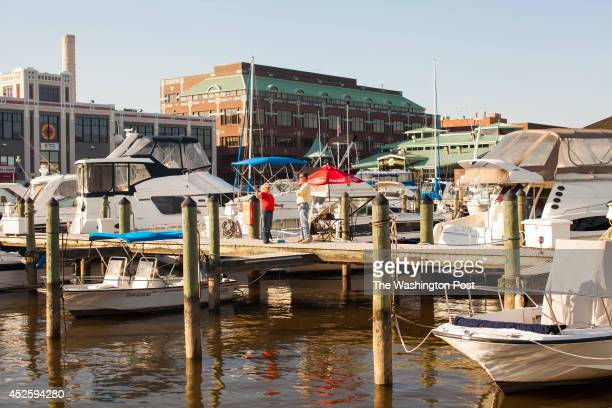 ALEXANDRIA VA Oct 16 Old Dominion Boat Club marina in Alexandria Virginia Friday October 18 2013 53 boat slips are maintained by members The city of...