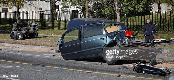 Oct 18 2009- A horrific crash on Finch Ave W at Tobermory Dr. Has taken at least 3 lives around midnight a car traveling westbound on Finch at a very...