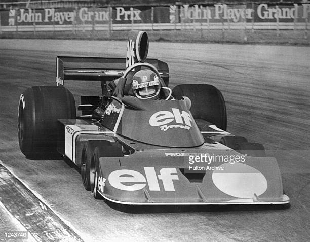 Initial testing of the radical sixwheel Formula 1 racing car took place at Silverstone yesterday The ElfTyrrell team led by Ken Tyrrell and designer...
