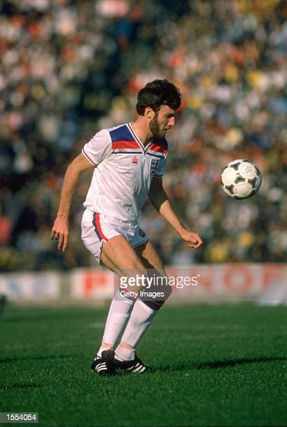 Gary Birtles of England in action during an International match played at Wembley Stadium in London England Mandatory Credit Allsport UK /Allsport