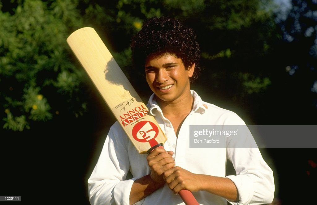 Sachin Tendulkar of India : News Photo