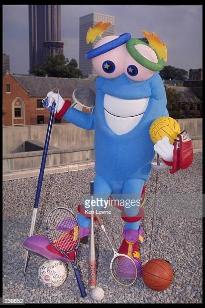 Izzy the mascot for the 1996 Summer Olympic Games in Atlanta Georgia Atlanta will host the 1996 Summer Olympic Games Mandatory Credit Ken...