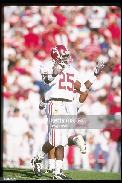 Defensive back Fernando Bryant of the University of Alabama during the Crimson Tide 2419 win over North Carolina State at Carter Finley Stadium in...