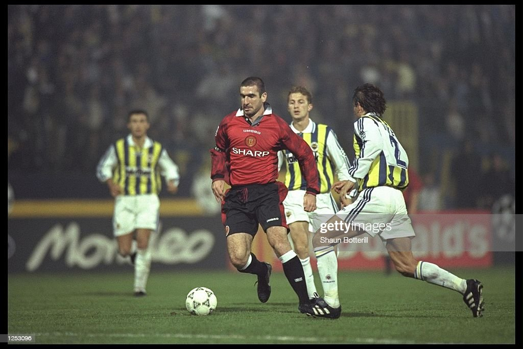 Eric Cantona Of Manchester United : News Photo