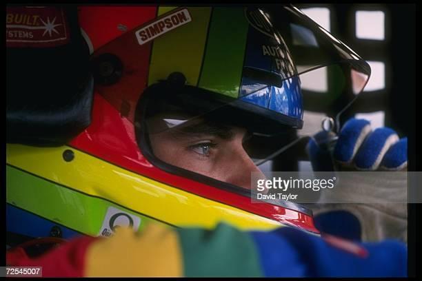 Jeff Gordon looks on during the NASCAR Dura Lube 500 at the Phoenix International Raceway in Phoenix, Arizona.