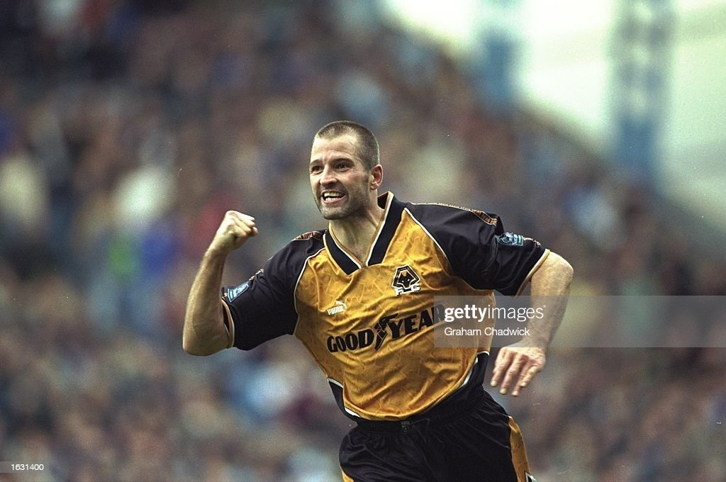 Steve Bull of Wolverhampton Wanderers : News Photo