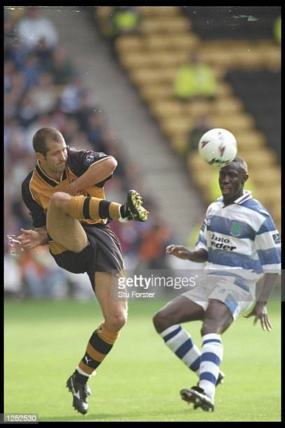 Steve Bull of Wolves in action during the Nationwide League match between Wolves and Reading at Molineux in Wolverhampton Reading went on to win the...