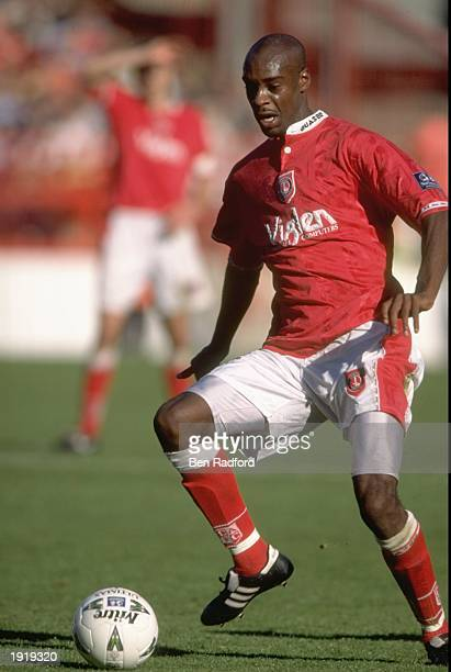 Richard Rufus of Charlton Athletic in action during the Nationwide League Division One game against Stoke City at the Valley in Charlton England...