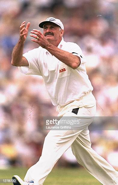 Dennis Lillee of Australia in action at a match against England during the tourists tour of Australia Mandatory Credit Laurence Griffiths /Allsport