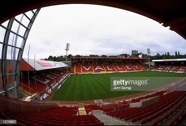 General view of the Valley home of Charlton Athletic FC in Charlton England Mandatory Credit John Gichigi /Allsport