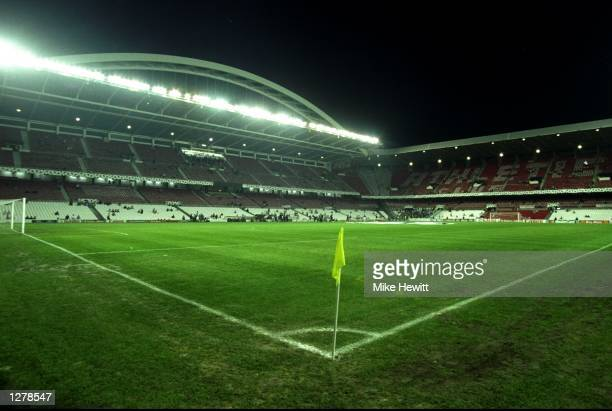 The San Mames Stadium before the UEFA Champions League match between Athletic Bilbao and Juventus in Bilbao Portugal The game ended in a goalless...