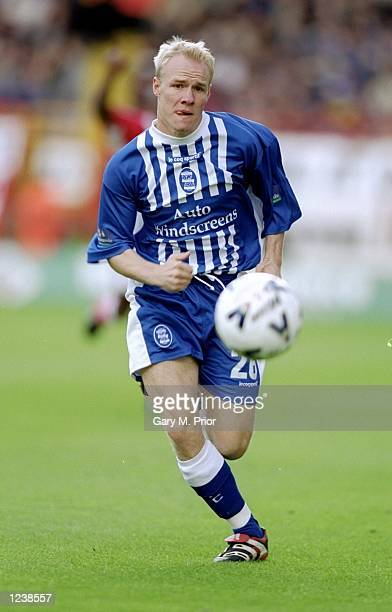 Andrew Johnson of Birmingham in action during the Nationwide Division One match against Charlton played at The Valley in Charlton England Charlton...