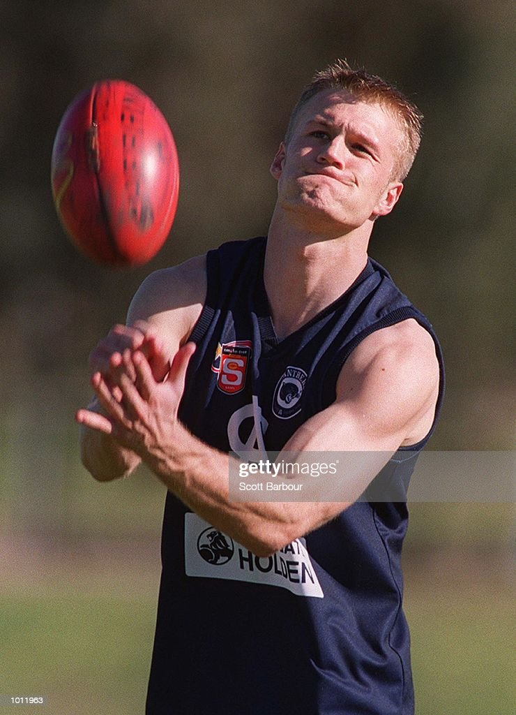 Dean Brogan from South Adelaide during the sixth AFL National Draft Camp held at the Australian Institute of Sport, Canberra, Australia. Mandatory Credit: Scott Barbour/ALLSPORT