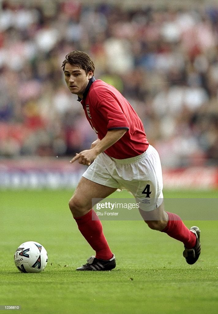Frank Lampard Makes His England Debut Against Belgium In The News Photo Getty Images