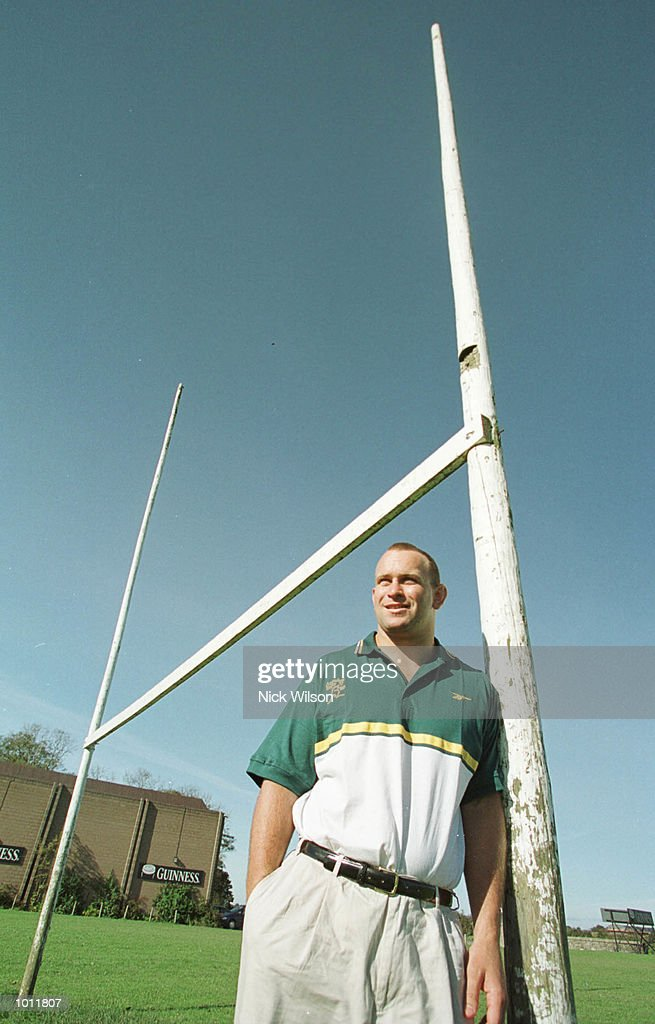 Rod Moore of Australia after landing in Dublin to replace the injured Patricio Noriega in the Australia squad for the Rugby World Cup. Mandatory Credit: Nick Wilson/ALLSPORT