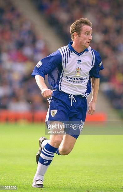 Grant Brebner of Stockport County in action during the Nationwide League Division One match against Bolton Wanderers played at Edgeley Park, in...