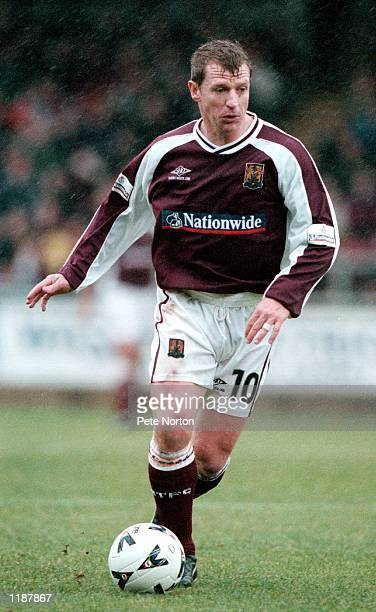 Marco Gabbiadini of Northampton Town in action during the Nationwide League Division Two match against Rotherham United played at the Sixfields...