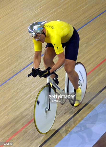 Matthew Grey of Australia in action winning gold in the LC1 1000m Time Trial at the Dunc Grey VeladromeSydney AustraliaxDIGITAL IMAGE Mandatory...