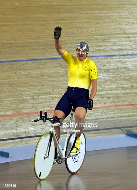 Matthew Grey of Australia in action winning gold in the LC1 1000m Time Trial at the Dunc Grey VeladromeSydney Australiax DIGITAL IMAGE Mandatory...