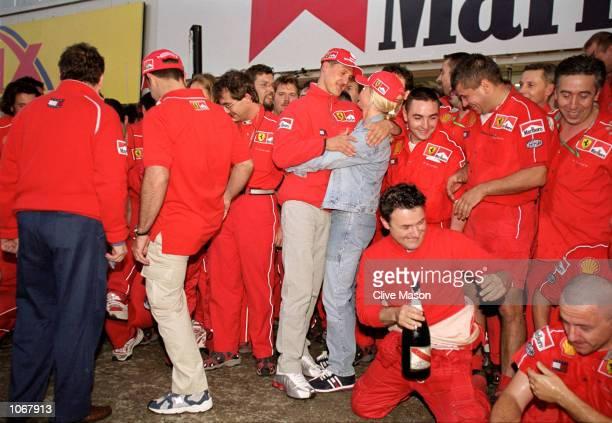 Michael Schumacher Corinna Pictures And Photos