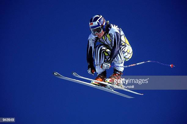 Ross Green of Great Britain in action during the British Ski team training held at the Hintertux Ski resort in Austria Mandatory Credit Clive...