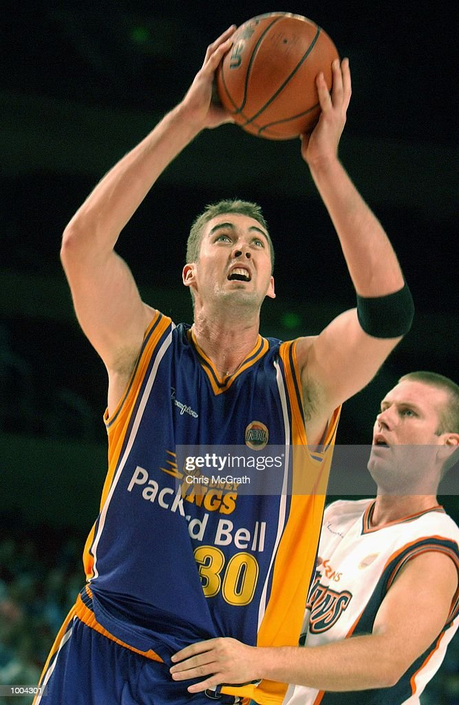 Anthony Melmeth #30 of the Kings in action during the NBL match between the Sydney Kings and the Cairns Taipans held at the Sydney Superdome, Sydney, Australia. DIGITAL IMAGE Mandatory Credit: Chris McGrath/ALLSPORT