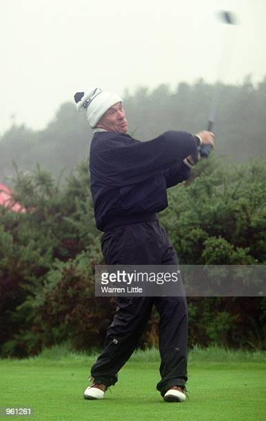 Arne Naess in action during the Dunhill Links Championships held at Kingsbarns Carnoustie and St Andrews in Scotland Mandatory Credit Warren Little...