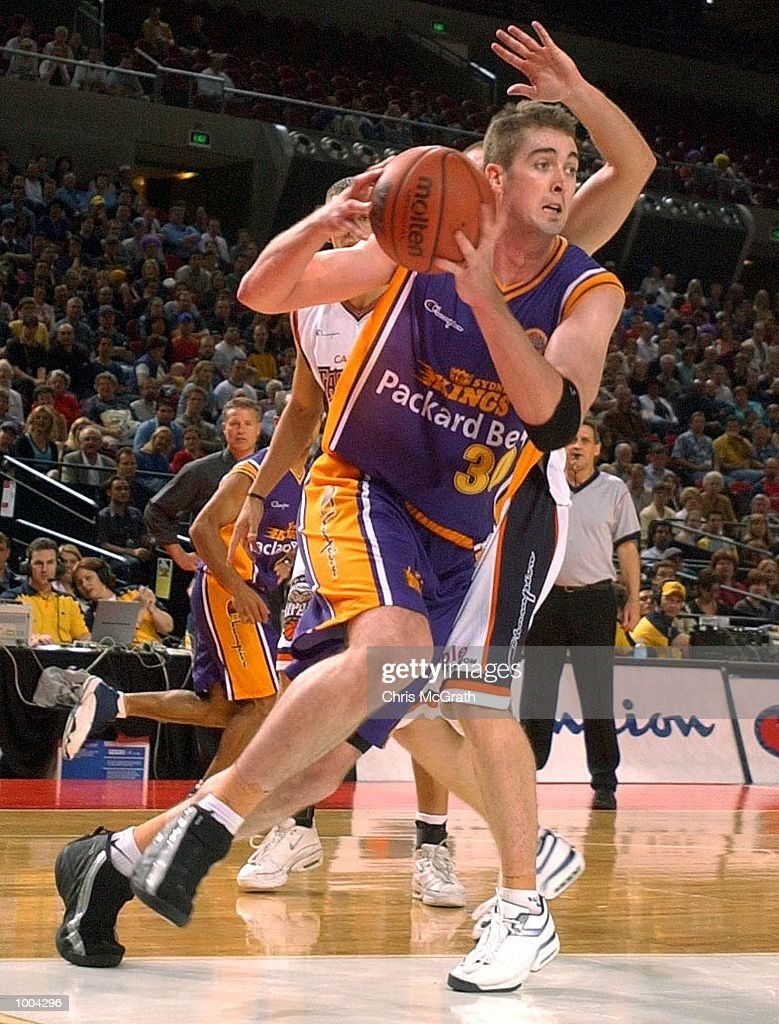 Ben Melmeth #30 of the Kings in action during the NBL match between the Sydney Kings and the Cairns Taipans held at the Sydney Superdome, Sydney, Australia. DIGITAL IMAGE Mandatory Credit: Chris McGrath/ALLSPORT