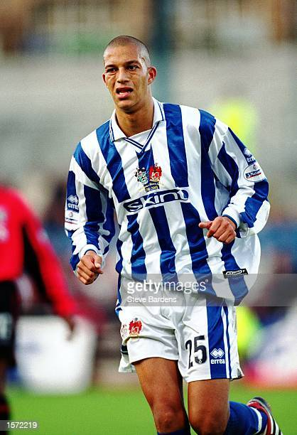 Bobby Zamora of Brighton in action during the Nationwide Division Two match between Brighton and Hove Albion and Colchester United played at the...