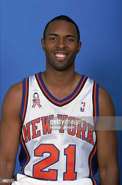 Charlie Ward of the New York Knicks poses for a studio portrait on Media Day in New York City New York NOTE TO USER It is expressly understood that...