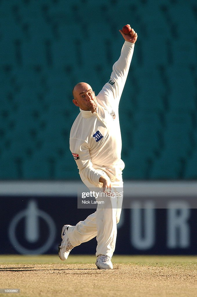 Darren Lehmann of South Australia in action during day two of the Pura Milk Cup match between the New South Wales Blues and the South Australia Redbacks held at the Sydney Cricket Ground, Sydney, Australia. DIGITAL IMAGE Mandatory Credit:Nick Laham/ALLSPORT